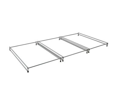 Chrome pan rail for (5) pan (includes one 2 RAIL and one 3 RAIL) (pricing applie