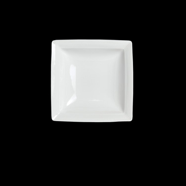 "Soup Plate, 11 oz., 7"", square, porcelain, Rene Ozorio Aura (USA stock item) (mi"