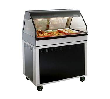 "Hot Deli Cook/Hold/Display System, 48"" L, self-service, includes (1) ED2-48/P di"