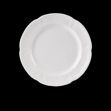 """Plate, 6-1/2"""" dia., round, Distinction, Vogue, Monique (USA stock item) (minimum"""