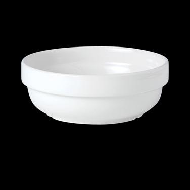 "Bowl, 13 oz., 5"" dia., round, stacking, vitrified china, Performance, Simplicity"