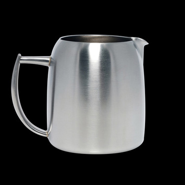 Milk Jug, 20 oz., without cover, stainless steel, La Tavola, Café and Club Hollo