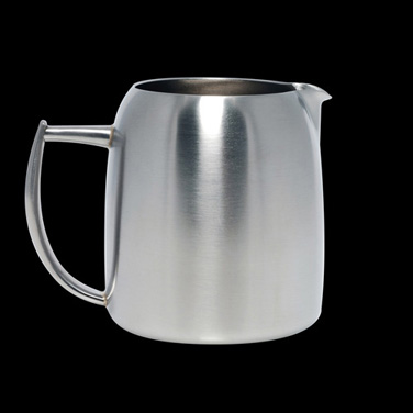 Creamer, 8 oz., stainless steel, La Tavola, Café and Club Hollowware (Special Or