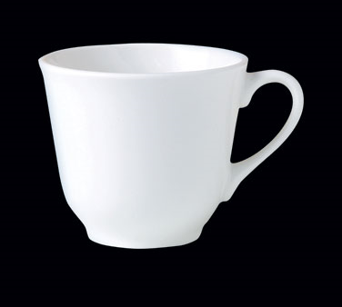 "Cup, 8 oz., 4-1/4""W x 2-7/8""H, tall, Distinction, Vogue, Monaco White (Canada st"