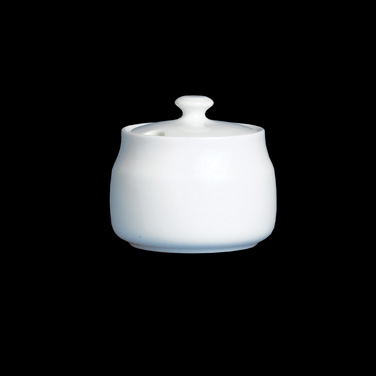 "Sugar Bowl, 7-3/4 oz., 3-3/4""W x 3-3/8""H, with cover, bone china, Narumi, Royal"