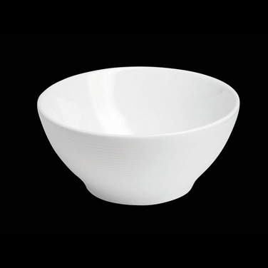 "Bowl, 11 oz., 4-3/4"" dia. x 2-1/4""H, round, porcelain, Tria, Wish (minimum = cas"