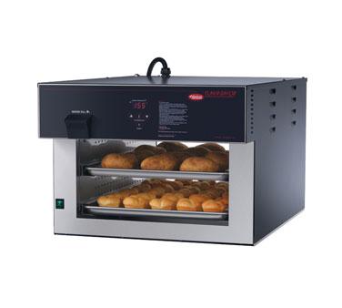 Flav-R-Savor® Air Curtain Heated Display Cabinet, Pass-thru, counter model, (2)