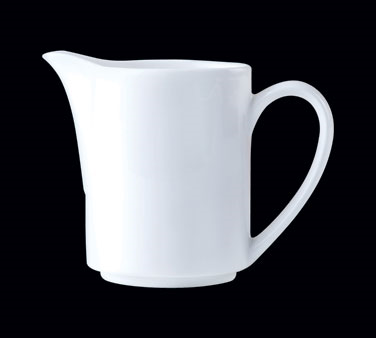 Jug/Creamer, 10 oz., handled, Distinction, Vogue, Vogue White (USA stock item) (