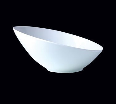 "Bowl #1, 41 oz., 10"" dia., round, Distinction, Sheer, Monaco White (priced per c"