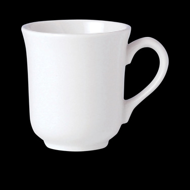 Mug, 8-1/2 oz., vitrified china, Performance, Ivory, Naturals Fennel (USA stock