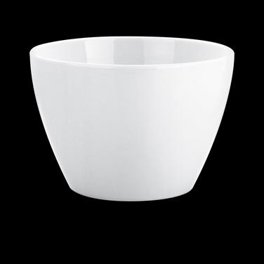 """Salad Bowl, 4-3/4 qt., 9-1/2"""" dia., round, 171024BL, porcelain, Pillivuyt, Eden"""