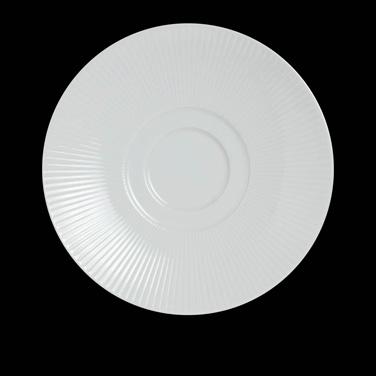 "Saucer, 5-1/4"" dia., round, for 6314P1037, porcelain, Sonata, Rene Ozorio (USA s"