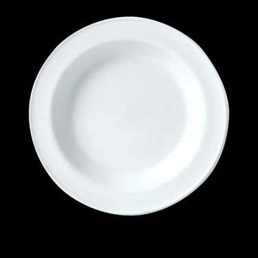 "Soup Plate, 12.9 oz., 8-1/2"" dia., round, vitrified china, Performance, Simplici"