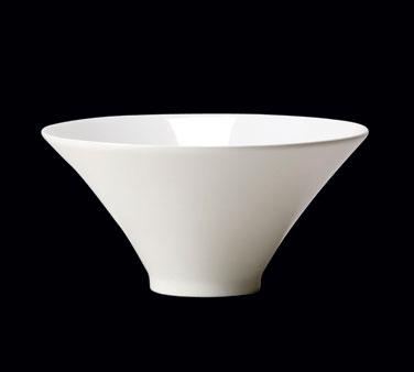 "Axis Bowl, 16 oz., 6"" dia. x 3""H, round, Distinction, Vogue, Vogue White (Canada"