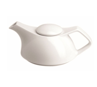 Teapot, 13 oz., with lid, porcelain, Tria, Wish (minimum = case quantity)