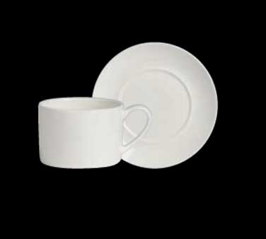 "Can Cup, 9-1/2 oz., 4-3/4""W x 2-1/2""H, large, porcelain, Varick Alpha-Ceram (USA"