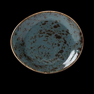 """Plate, 6"""" dia., round, free style body, narrow rim, freezer/microwave/dishwasher"""