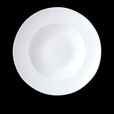 "Nouveau Bowl, 17 oz., 11-3/4"" dia., round, vitrified china, Performance, Simplic"