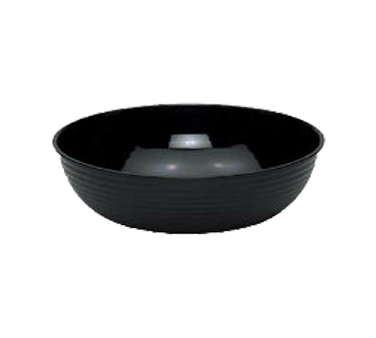 "Camwear® Bowl, ribbed, round, 10"" dia., 3.2 qt. capacity, polycarbonate, dishwas"