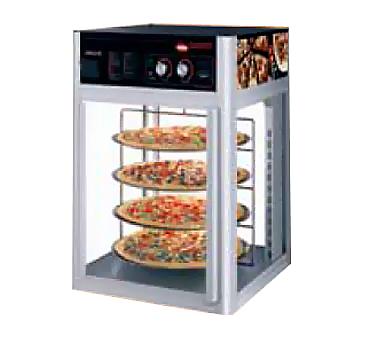 Flav-R-Savor® holding and display cabinet, (2) door, (3) tier circle rack with m