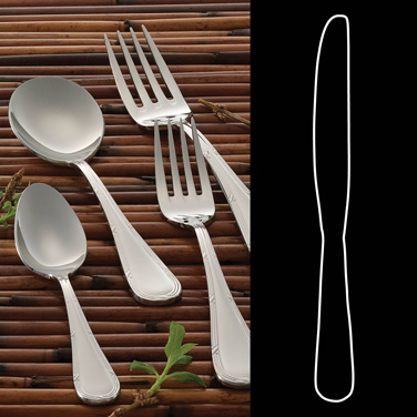 "Table Knife, 9-1/2"", 18/10 stainless steel, Rene Ozorio Aruba (USA stock item) ("