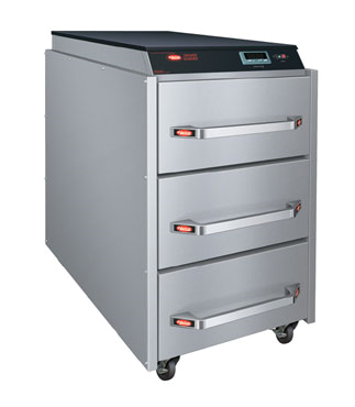 Drawer Warmer, narrow three drawer, free standing, programmable digital electron