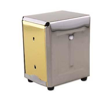 """Napkin Dispenser, 4"""" x 4-1/2"""" x 5-3/4"""", for junior napkins 3-1/2"""" x 4-1/4"""", hold"""