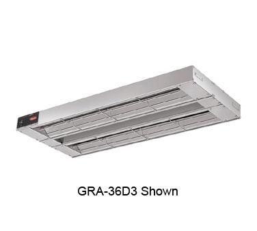 Glo-Ray® Infrared Foodwarmer, standard wattage, tubular metal heater rod, double
