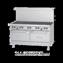 Garland U Series Restaurant Range, gas, 60, (10 32,000 BTU open burners, with cast iron
