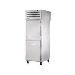 True Mfg SPEC SERIES® Pass-thru Freezer, one-section, stainless steel front & sides, (2)