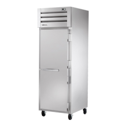 True Mfg SPEC SERIES® Refrigerator, Reach-in, one-section, stainless steel front/sides, (