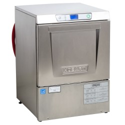 Hobart LXe Undercounter Dishwasher, hot water sanitation, (32) racks/hr, fresh water ri