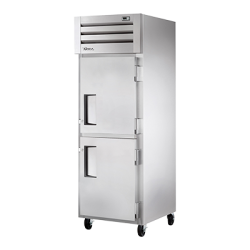 True Mfg Freezer, Reach-in, -10°F, one-section, stainless steel front, aluminum sides, (2