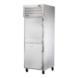 True Mfg SPEC SERIES® Freezer, Reach-in, -10°F, one-section, stainless steel front, alumi