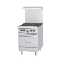 "Garland G Starfire Pro Series Restaurant Range, gas, 24"", (2 33,000 BTU open burners, wi"