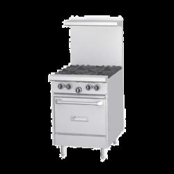 """Garland G Starfire Pro Series Restaurant Range, gas, 24"""", (2 33,000 BTU open burners, wi"""