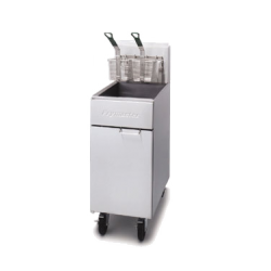 Frymaster Fryer, Gas-Fired, medium-duty restaurant design, 40-50 lb. fat capacity, millivo