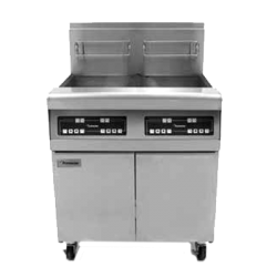 Frymaster Performance Fryer Battery, gas, (4) 40 lb. oil capacity each, built-in filtratio