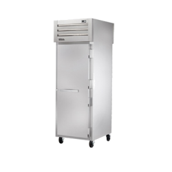 True Mfg SPEC SERIES® Pass-thru Freezer, one-section, stainless steel front & sides, (1)