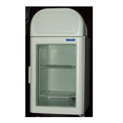 CELCOLD Refrigerated Merchandiser, counter-top, one-section self-contained, 2.6 cu. ft.