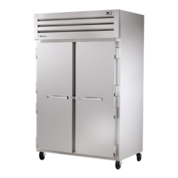 True Mfg SPEC SERIES® Freezer, Reach-in, -10°F, two-section, stainless steel front, alumi