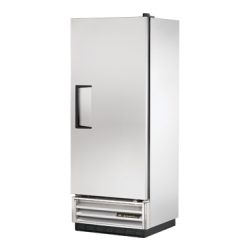 True Mfg Refrigerator, Reach-in, one-section, stainless steel door, stainless steel front