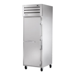True Mfg SPEC SERIES® Refrigerator, Reach-in, one-section, stainless steel front, aluminu
