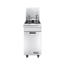 Garland Master Series Fryer, gas, Range Match, 35 lb. fat capacity, thermostat controls,
