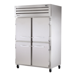 True Mfg SPEC SERIES® Freezer, Reach-in, -10° F, two-section, stainless steel front/sides