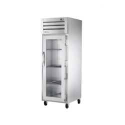 True Mfg SPEC SERIES® Refrigerator, Reach-in, one-section, stainless steel front & sides,