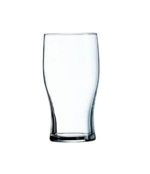 Beer/Beverage Glass, 16 oz., fully tempered, nucleated, glass, Arcoroc, Tulip (H