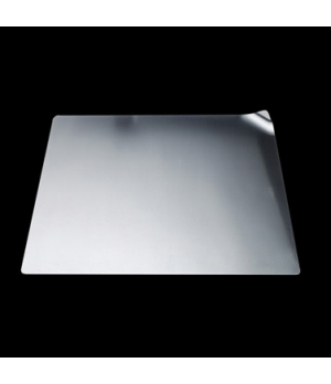 "Show Plate, 12-1/4"", square, dots, stainless steel, La Tavola, Café and Club Hol"