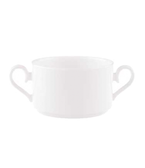 Soup Cup, 9-1/4 oz., stackable, premium bone porcelain, Stella Hotel