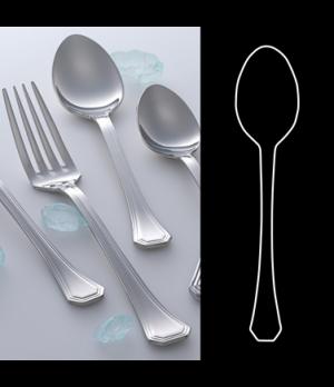 "US Tea Spoon, 6"", 18/10 stainless steel, WNK, Deluxe (USA stock item) (minimum ="